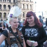 A couple of fun young women in Australia